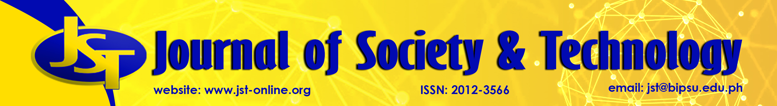 Journal of Society and Technology Banner